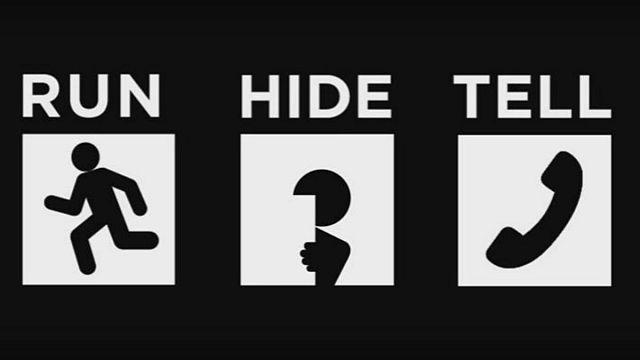 Empfehlung: Wie man sich bei einem Terroranschlag verhalten soll