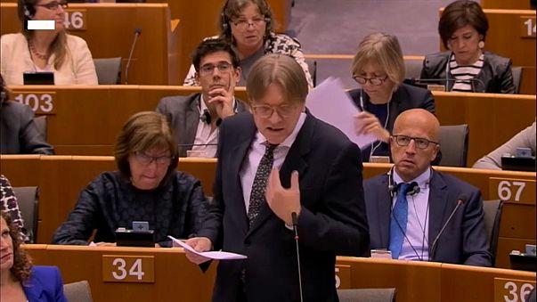 Brüssel: Drohung mit Brexit-Votum