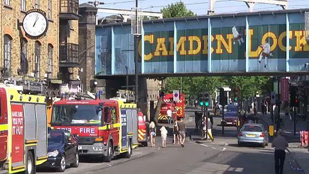 Fire hits London's Camden Market - again