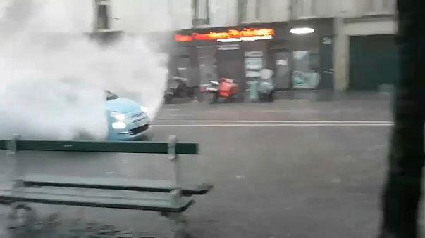 París recupera la normalidad tras una noche de inundaciones