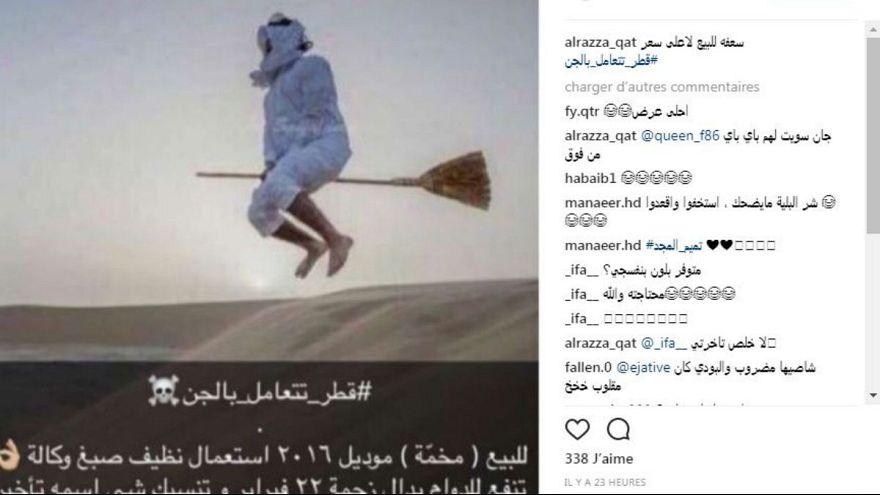 بحران قطر در توییتر:#قطر_با_جنها_ارتباط_دارد