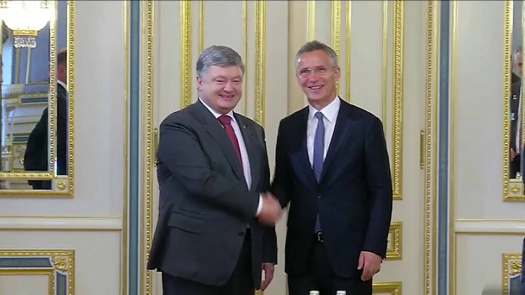 Ukraine pushes ahead with NATO membership moves