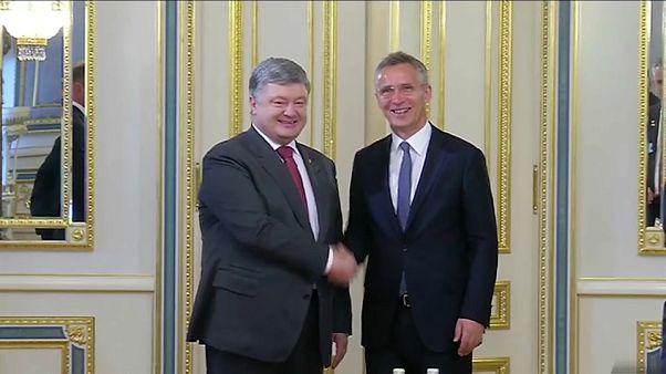 Rússia critica o roteiro de adesão à NATO da Ucrânia