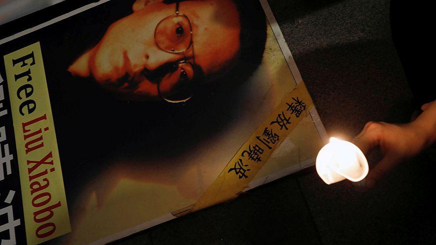 Friedensnobelpreisträger Liu kurz vor dem Tod