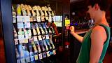 Discover the vending machine that sells art