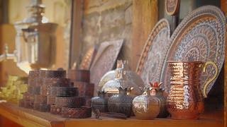 Azerbaijan's ancient copperware techniques