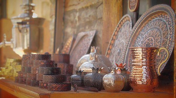 هنر مسگری در شهر لاگیش آذربایجان