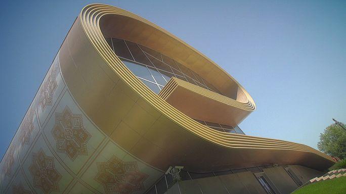 Bakú acoge la alfombra como pieza de museo