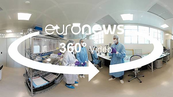 360 video: Discover one of the cleanest cleanrooms in Europe