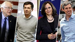 Cash dash divides Democrats' top tier from the pack