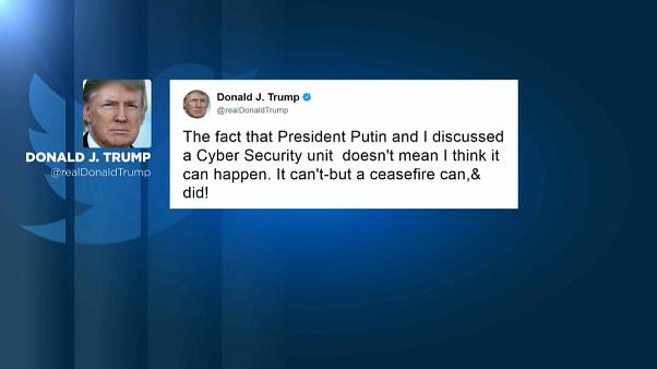 """Trump: """"una unidad de ciberseguridad con Rusia no puede existir"""""""