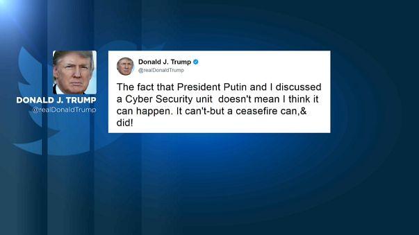 """Trump-Flop: """"Cyber-Einheit"""" mit Russland"""