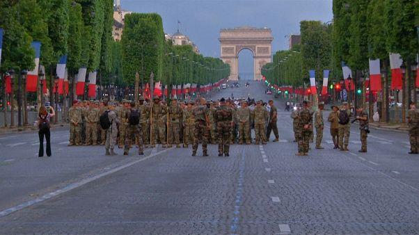 Les soldats américains en vedette du défilé du 14 juillet