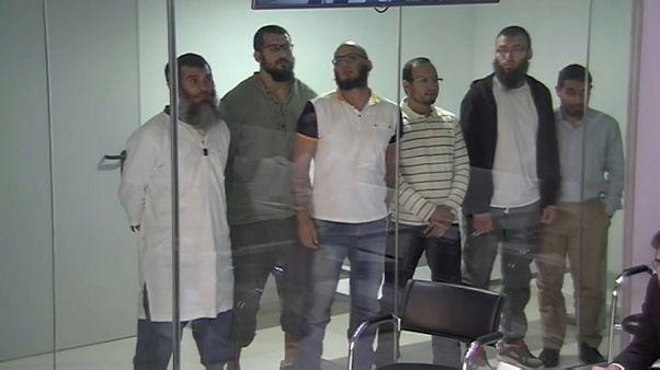 Seis yihadistas de Melilla condenados a seis años de cárcel
