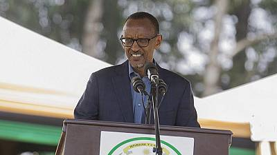 Rwandan president gets warm reception from Israeli leaders