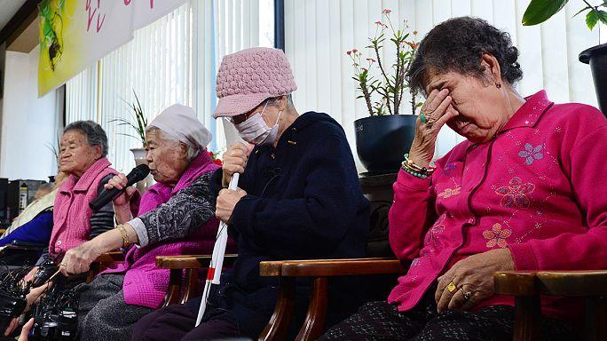 نساء للمتعة لمكافأة الجندي الياباني
