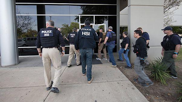 Image: Texas HSI ICE AGents