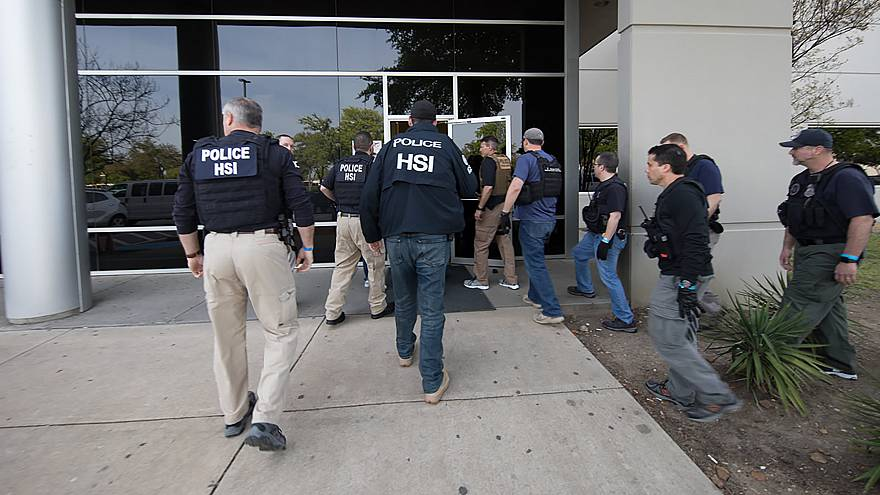 Image: Texas HSI ICE AGents