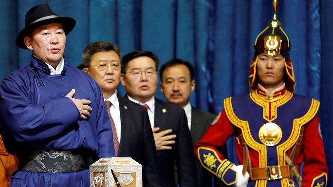 Meet Mongolia's President-elect: a former wrestler