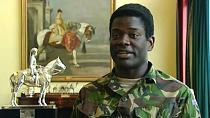 Ghana-born soldier is first black aide of the British monarch