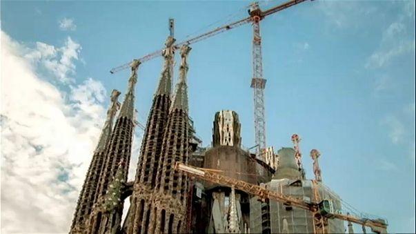 Sagrada Família: stop ai lavori sulla scalinata