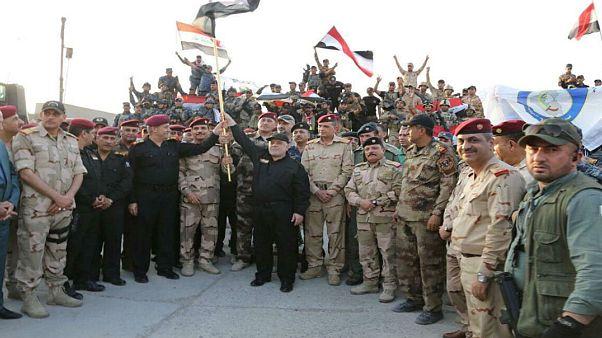 نخست وزیرعراق بیانیه آزادی کامل موصل را قرائت کرد