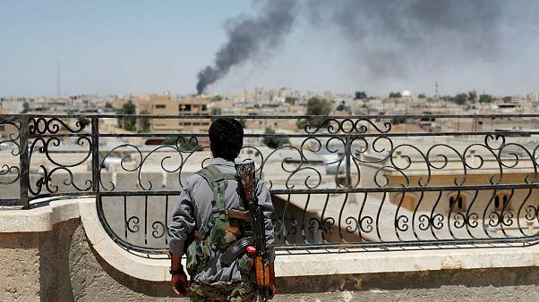 نیروهای داعش زیر فشار شدید در رقه