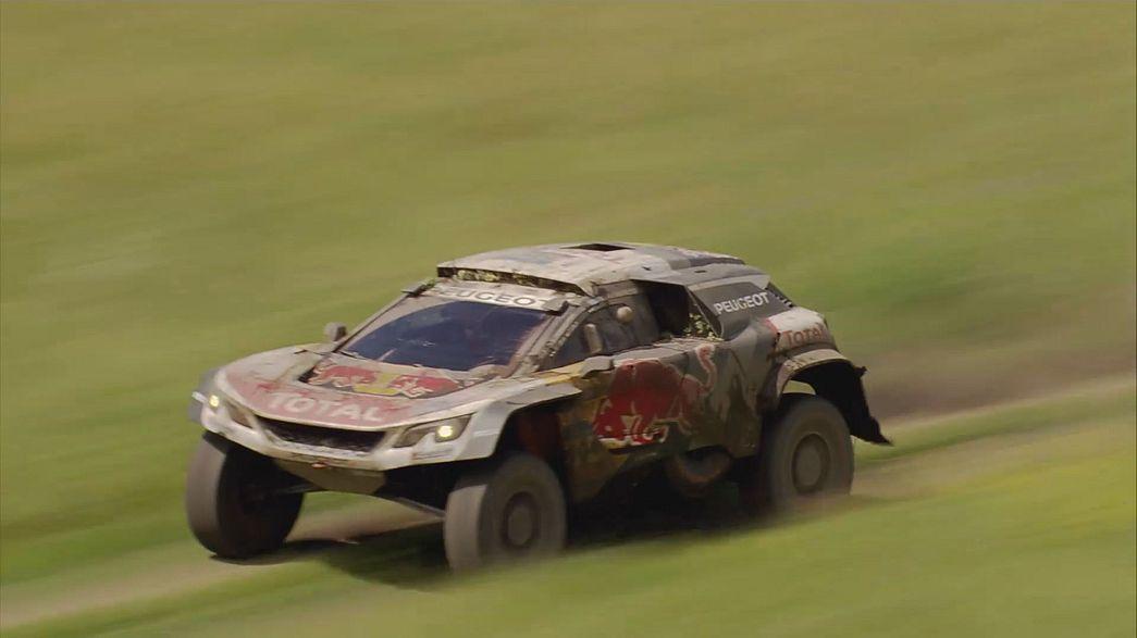 Sébastien Loeb prend les commandes du Silk Way Rally