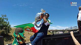Portugal campeão europeu há um ano