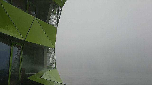 Météo : Lyon et euronews pris dans la tempête !