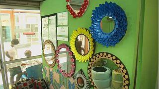 Nigeria : Olamide Babajide la fée du recyclage de pneus