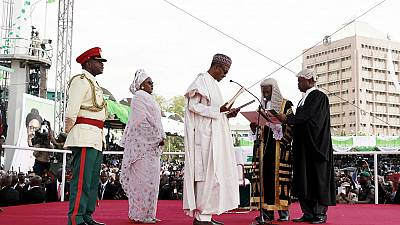 'King' Buhari will be back to deal with hyenas and jackals – 'Queen' Aisha fires