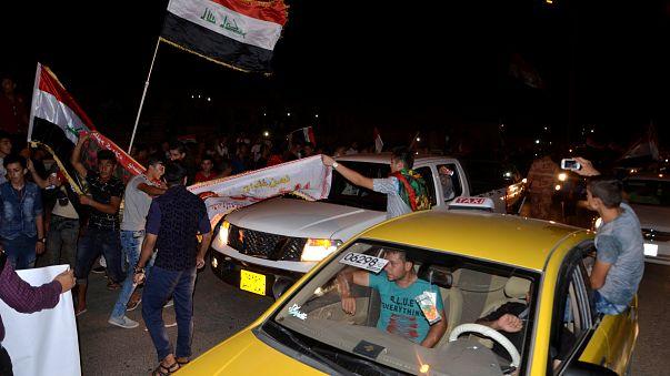 Iraq celebrates recapture of Mosul from Islamic State militants