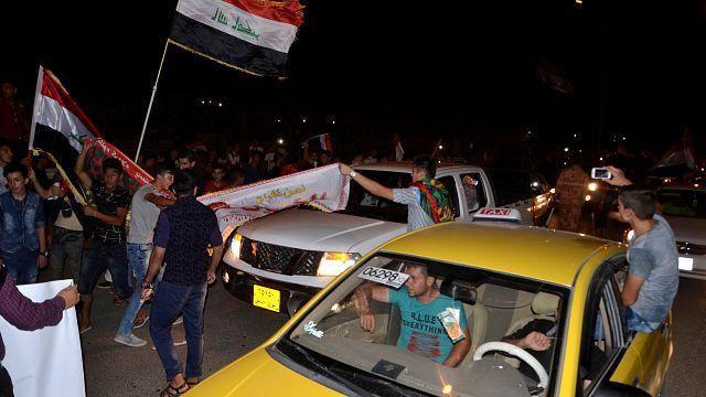 Scènes de liesse en Irak après la libération de Mossoul