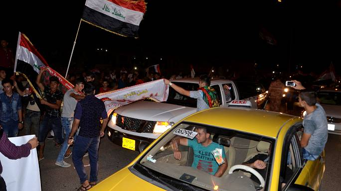 Iraq celebrates recapture of Mosul from Islamic State militants