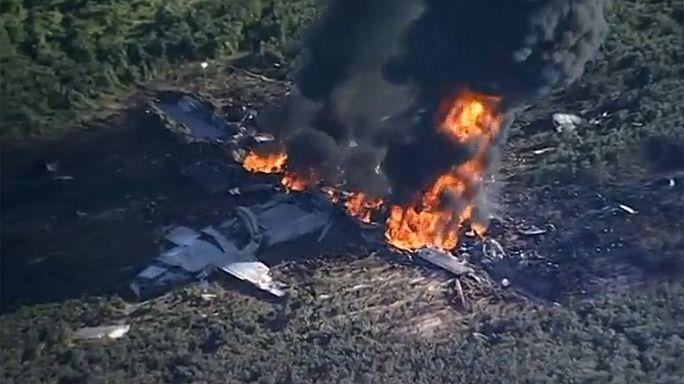 Mississippi: precipita aereo militare, 16 morti