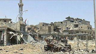 Moszul szabad, de romokban hever