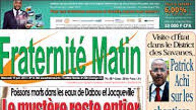 Côte d'Ivoire: crise salariale au sein du journal «Fraternité matin»