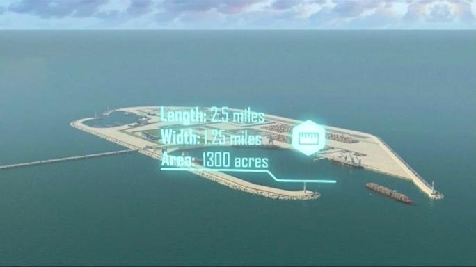 Israel unveils plans for artificial island off Gaza