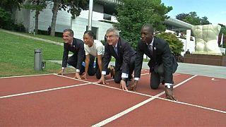 """O """"sprint"""" de Paris e LA para acolher a chama olímpica"""