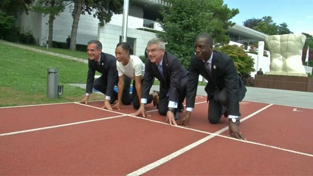 Paris and L.A. await Olympic decision