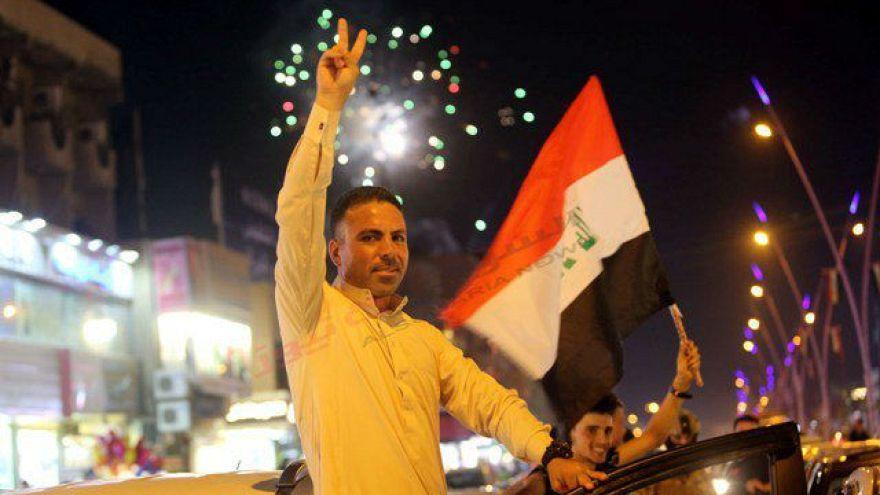 جشن پیروزی در بغداد و موصل