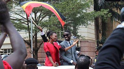 Ugandan music star sworn in as MP