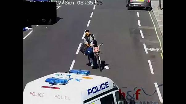 London thief caught after being knocked off Boris Bike