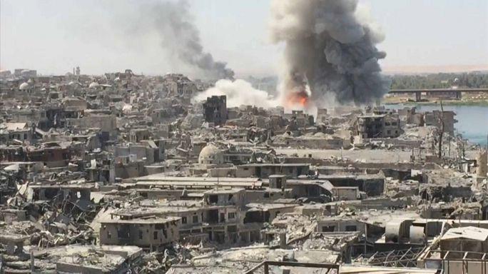 """Opération """"nettoyage"""" à Mossoul"""