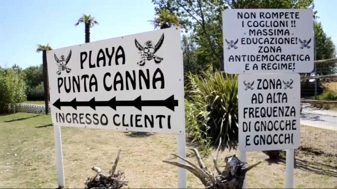 Italie : une plage à la gloire du fascisme