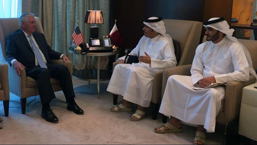 قطر و آمریکا پیمان مبارزه با تروریسم امضا کردند