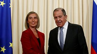 Joint press conference between Federica Mogherini and Sergey Lavrov