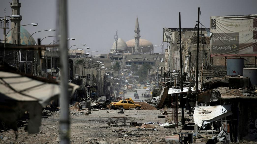 What has been the human cost of liberating Mosul?