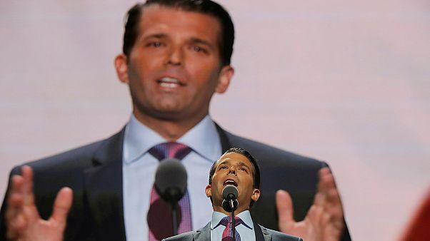 Trump's son releases Russia e-mail chain
